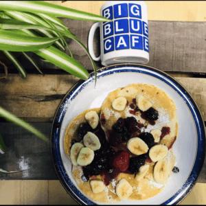 Fruity Pancake stack